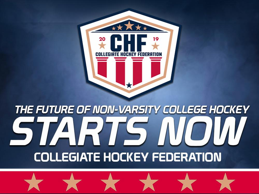 MYHockey Rankings and GameSheet Inc Announce Partnership with Collegiate Hockey Federation