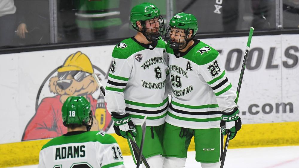 NCAA Simulation: North Dakota Takes Care of Business vs. AIC