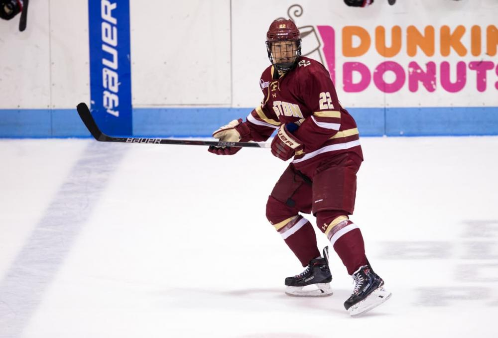 NCAA Simulation: Eagles Soar to the Frozen Four